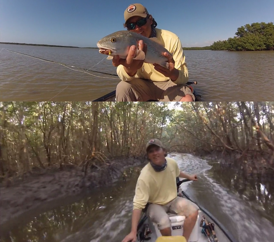 Epic fishing video in the 10 000 islands florida out of for Chokoloskee fishing report