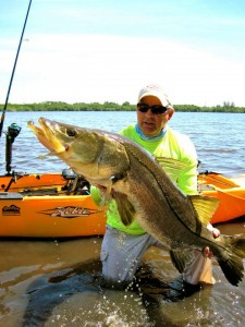 Egret Baits & Jerry haul in MONSTER snook!