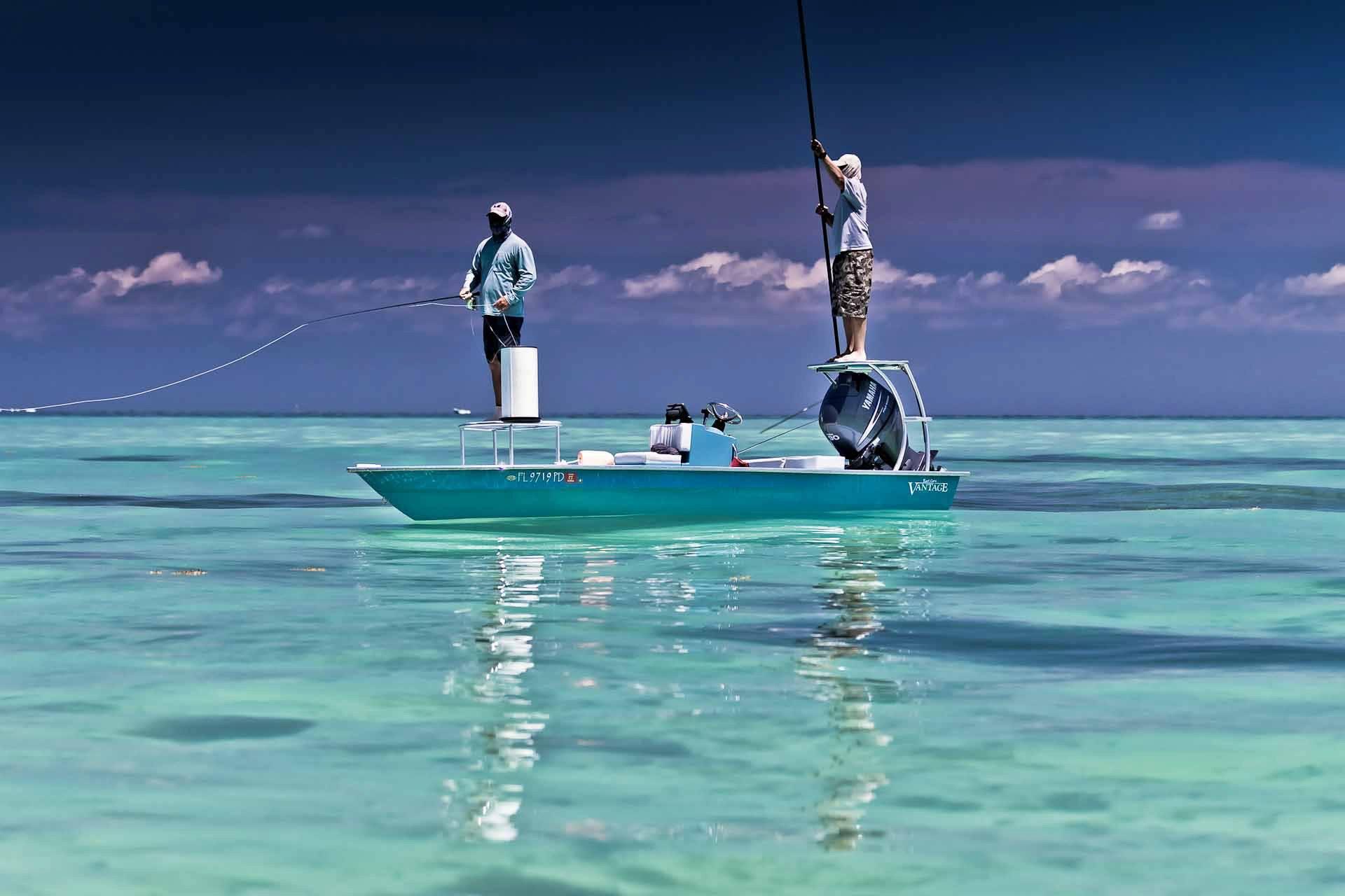 The florida keys east cape skiffs style skiff life for Best fishing in florida keys