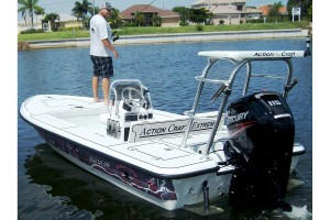 Action Craft's 17, the ACE Flyfisher