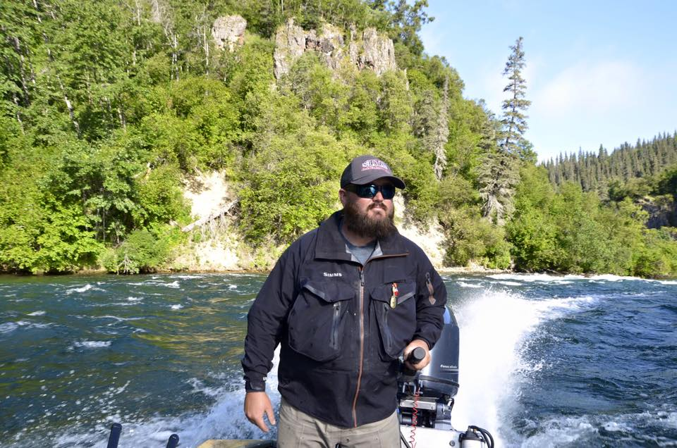Premier Florida Fishing Guide, James Cronk travels to Alaska to guest guide.