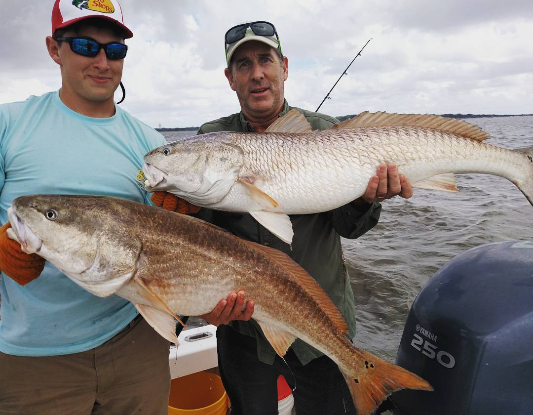 More bull redfish from the incredible october season with for Red fish season
