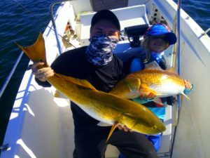 Pensacola Bay Doubles Redfish