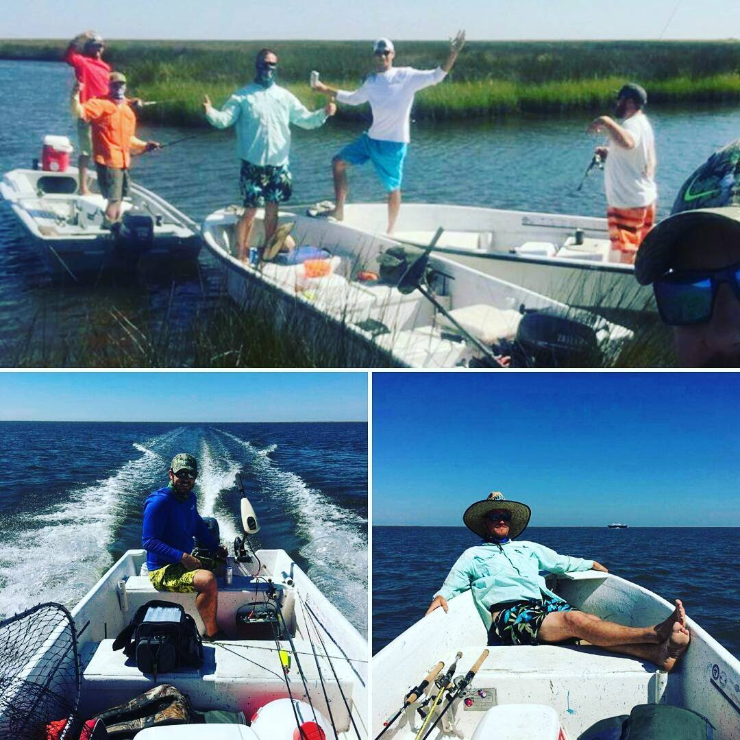 Fishing hard or hardly fishing you decide for Chandeleur islands fishing charters