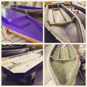 100% hand laid 100% composite. Making skiffs great again! @hayaari_marine @south…