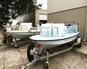 Ice blue, guide green, or Matterhorn white, which @eastcapeskiffs skiff color wo…