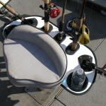 Capt. Peglegs Boat Seat Caddies