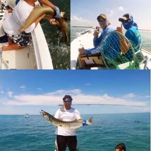 EPIC Trip!  2nd Annual Florida Gulf Coast University (FGCU – a.k.a. Dunk City) Fishing Club trip to Sugarloaf Key, Florida Keys