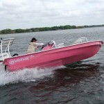 Blackfly Lodge & East Cape Skiffs unveil first Breast Cancer Awareness Pink Skiff