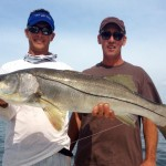 Tyler's personal best Snook caught in Tampa
