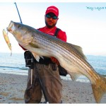 Striper fishing is heating up in the Northeast.