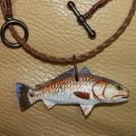 Redfish Art, Fish Jewelry