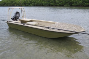 The Floyd Patterson of Skiffs…sophistication and toughness found in The Salt Marsh skiff