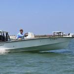Capt. Tommy Derringer with www.InshoreAdventures.net in St. Augustine Florida, runs fantastic fishing charters in his Egret Boats model Egret 189.