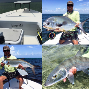 Honson Lau with a Grand Slam: Permit, Bonefish and Tarpon on Fly!