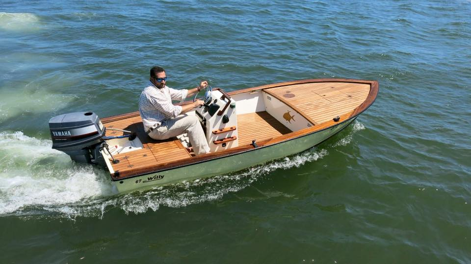 1967 Willy Roberts Flats Skiff surfaces for sale
