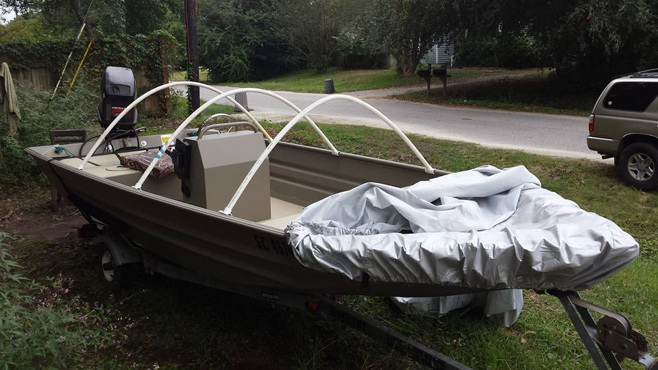 Diy Boat Cover Project Skiff Life Fishing Amp Boating