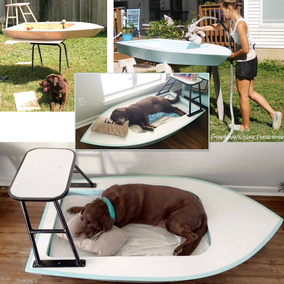 Duck Dogs Bed