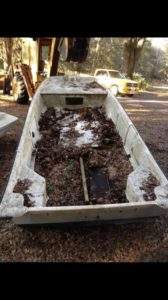 Tristan's abandoned boat to Beauty rebuild.