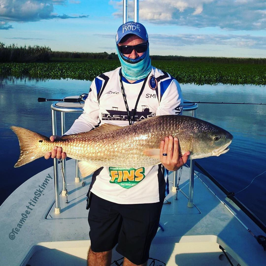 """Caught this beautiful 41"""" 30+lbs redfish this weekend. I really got to test out ..."""