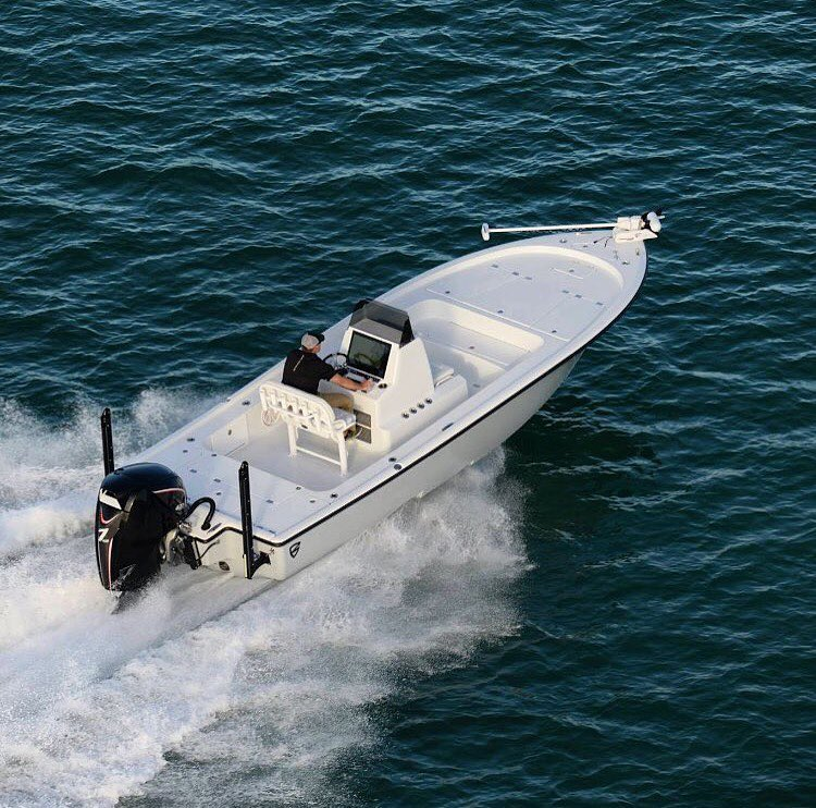Get out there... it's the weekend! : @barkerboatworks #skiffsonly...