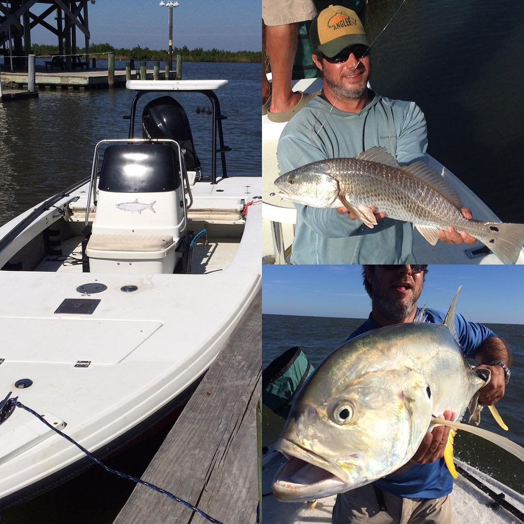 Great time in the marsh! Always have fun hunting those reds. #flyfishing #redfis...