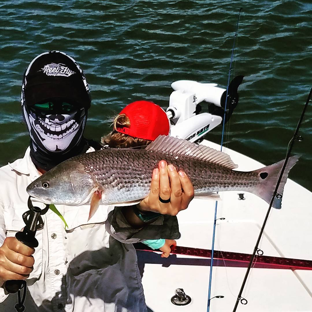 Look at the grin on this angler's face ... good times! See @moorerust1 and @cord...