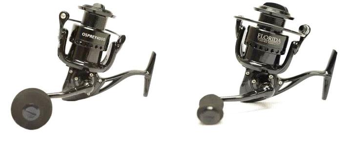 Florida Fishing Products, Osprey reel.