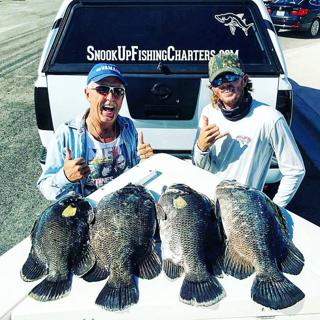 Put Ed on some #tripletail today! Buncha throw backs and limited out with 4 nice...