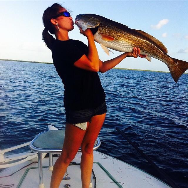 Sweet redfish caught...
