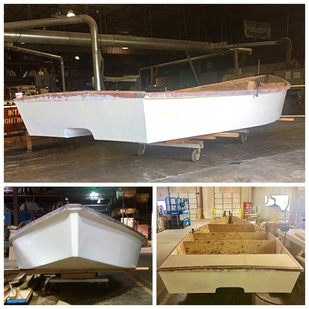 got my little skiff up in the woodshop me and bigpo64 started