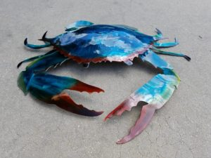 crab-art-metal