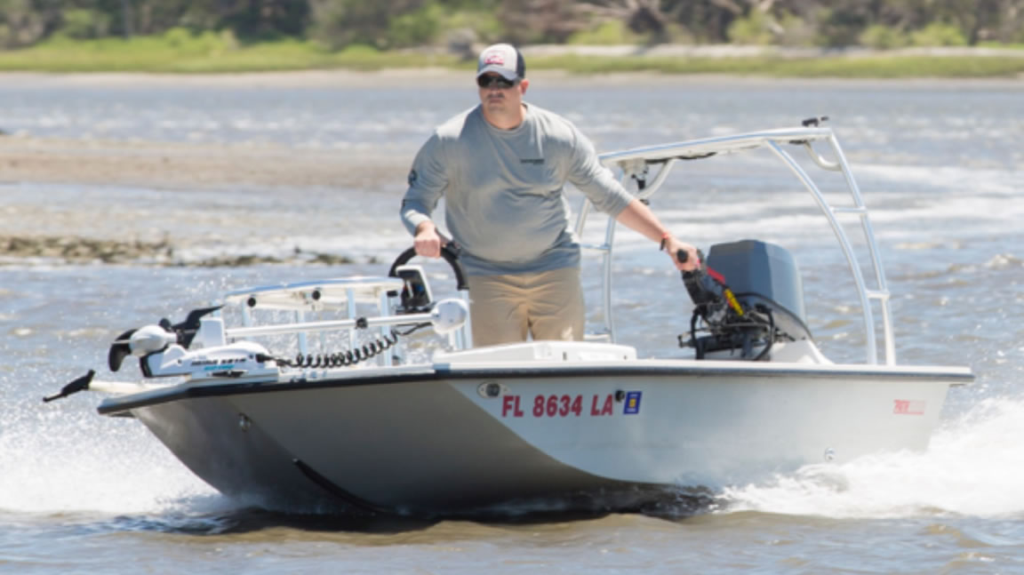 Skiff Defined.  Chris White's Pathfinder 15T, a flats boat for the record books.