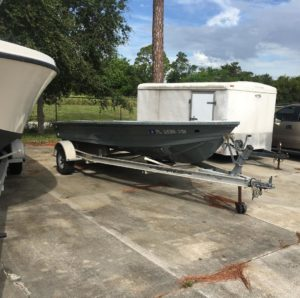 Boat is dropped off at the Hull Boatworks. Gota pull the top cap and the gas tan…