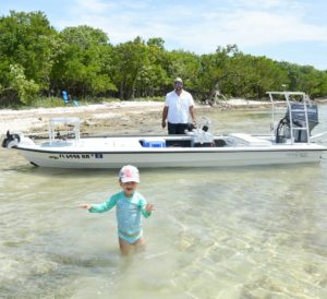 I had a great time on the skiff with my girls yesterday. She was a little concer…