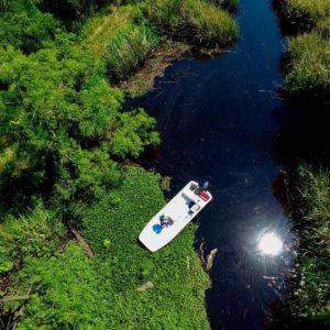 Swamp skiff!