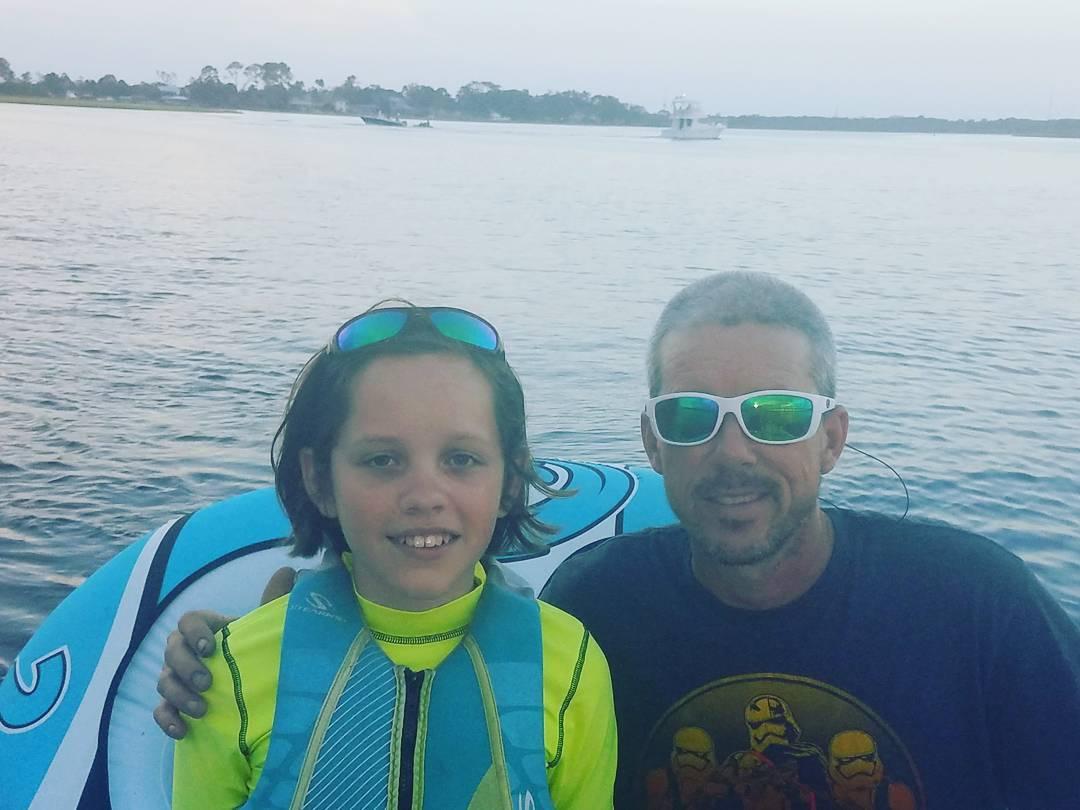 . . Boating w/ Dad! . . . . .  ...