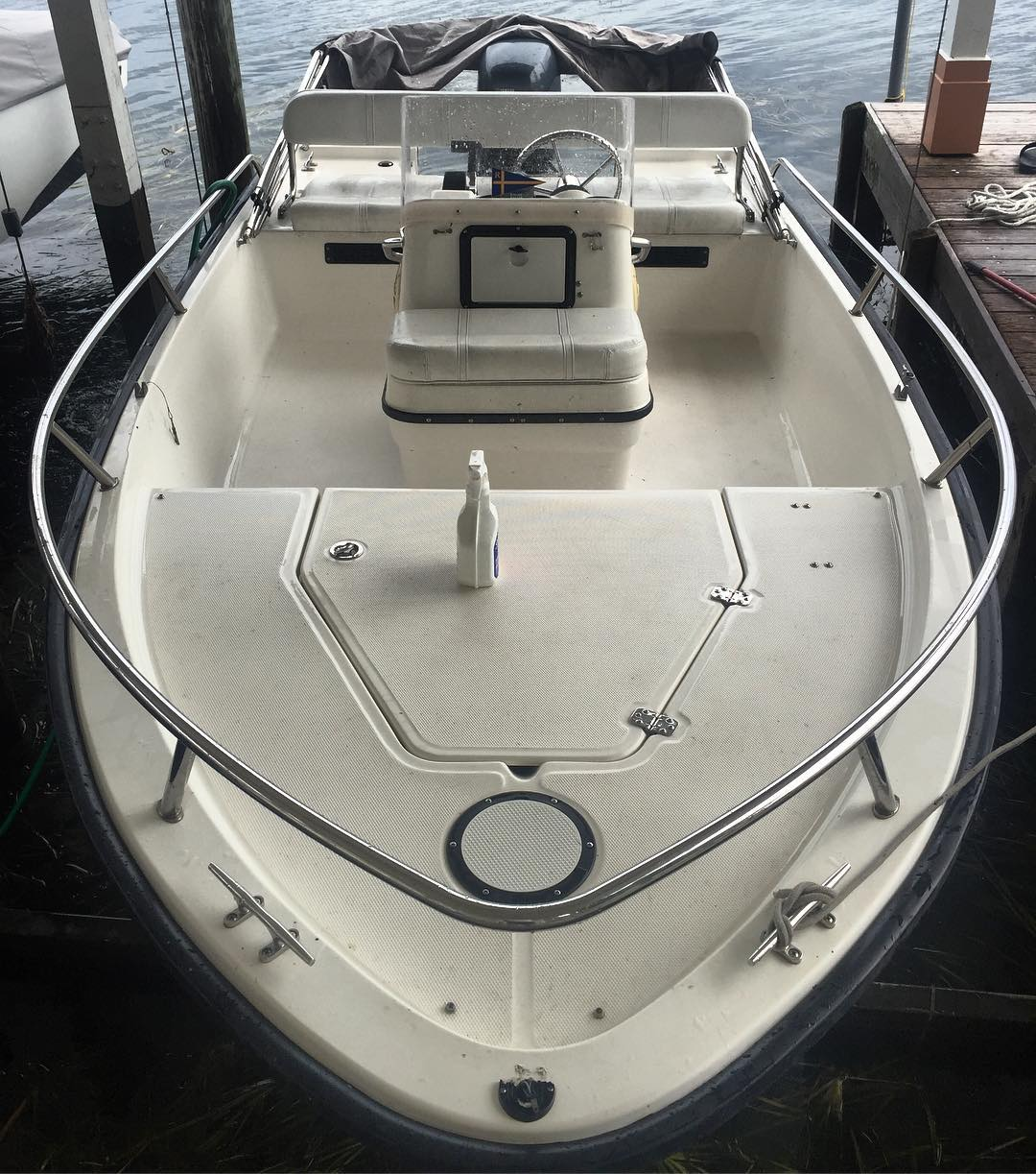 Carolina Skiff - A clean boat is a good boat!                          ...