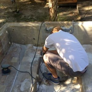 Finally an update. Brought the boat home to do some sanding so I could get somet…
