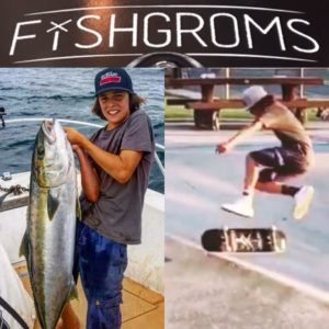Snapping skate decks and puttin the wood to homegaurds! Fishgroms respectfully …