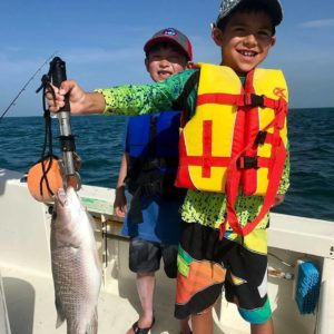 Thanks  for sharing this catch of the day shot. We love seeing kids wearing Reel…