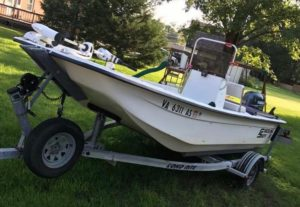 Carolina Skiff – When you don't know what to get your 14 year old for his birthday, you just buy …