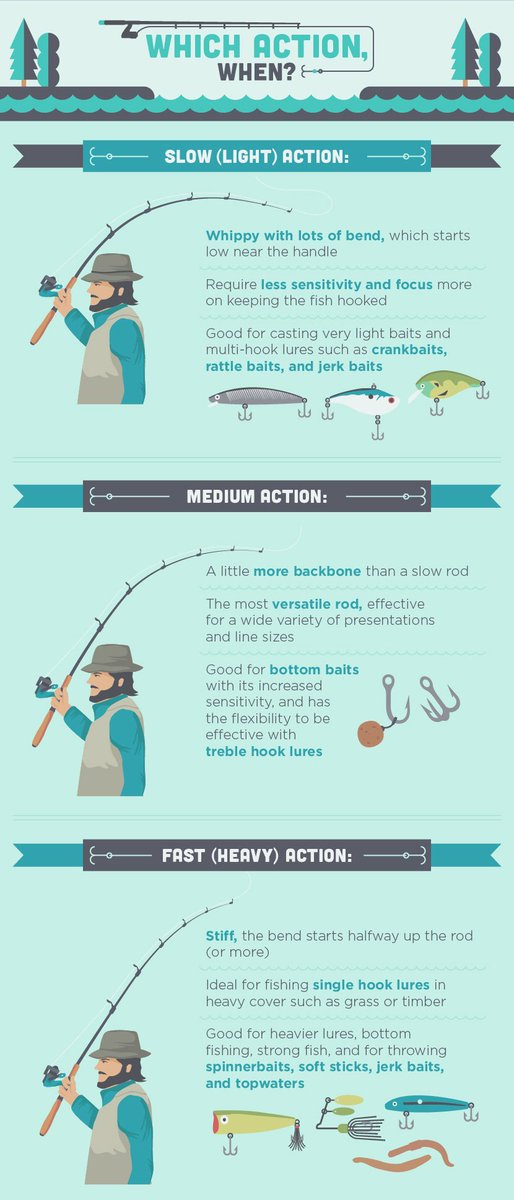 fishing rod action explained