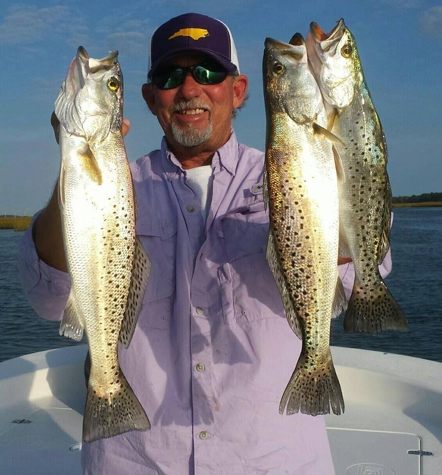 medium action rod speckled trout