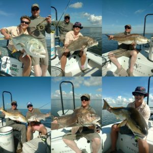 A couple of action packed days for the boys from Alaska and Texas.  Doubles, tri…