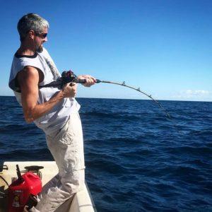 Fish on…..                       …