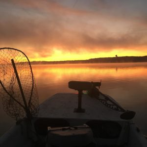 Struck out on musky… can't be mad with that sunrise though                   …