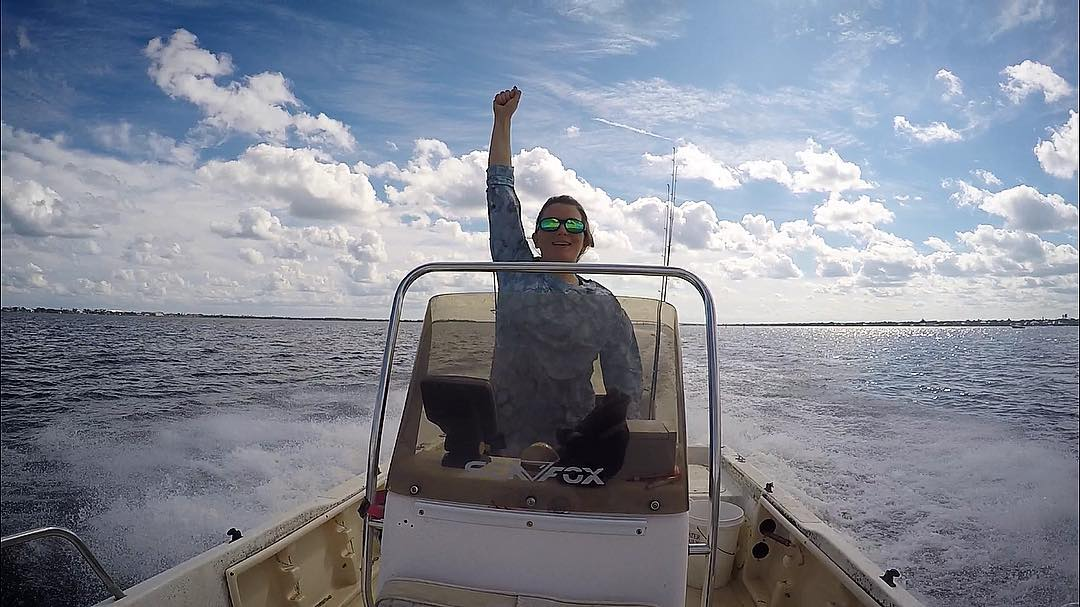 Watch out fish there's a new captain in town!                 ...