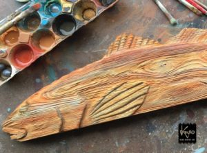 This is the Texas Redfish getting a suntan by way of paint. Check back to see ho…
