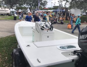 Hanging out at the Nautical Flea Market in Pompano Beach with our new WhiteTip 1…